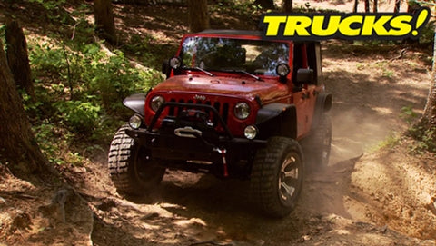 Trucks! DVD (2012) Episode 12 - Jeep Wrangler JK Giveaway Payoff