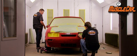 "MuscleCar DVD (2011) Episode 19 - ""Dark Horse Paint & Body"""