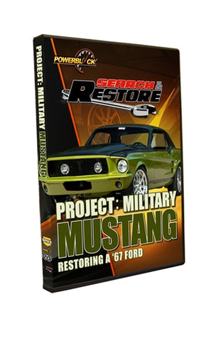 "Search & Restore - Project ""Military Mustang"" Restoring A '67 Ford"