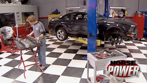 "HorsePower DVD (2007) Episode 06 - ""Stroker Stang / Fat Tuesday Blowout"""