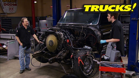 Trucks! DVD (2013) Episode 03 - '71 C-10 LS Engine Swap!