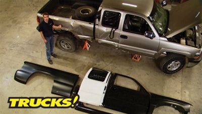 "Trucks! DVD (2009) Episode 01 - ""Second Chance Silverado Part 1"""