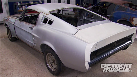 Detroit Muscle DVD (2014) Episode 12 - Plain Pony to Fastback