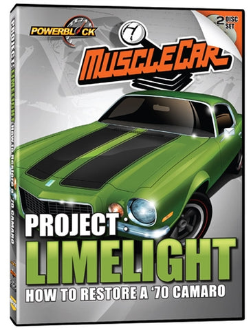 MuscleCar Project: Limelight '70 Camaro (2-Disc Set)