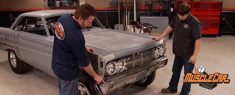 "MuscleCar DVD (2010) Episode 13 - ""Altered E-Go Lexan Windows"""