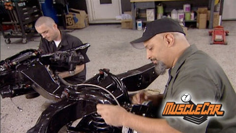 "MuscleCar DVD (2007) Episode 13 - ""Pontiac Le Mans-Stroker Build-Up"""