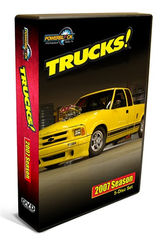 Trucks! DVD (2007) Complete Season 5-Disc Set