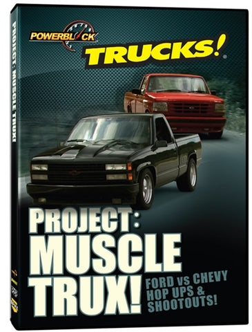 Trucks! Project: Muscle Trux! (DVD)