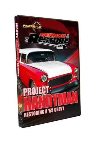 "Search & Restore - Project ""Handyman"" Restoring A '55 Chevy"
