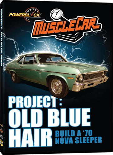 MuscleCar Project: Old Blue Hair (DVD)