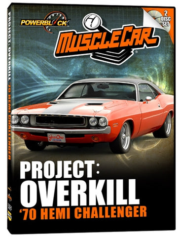 MuscleCar Project: Overkill (2-Disc Set)