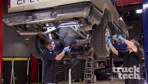 Truck Tech DVD (2014) Episode 5 - Senior Silverado Part 1