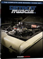 Detroit Muscle (2016) Complete Season 5-Disc Set