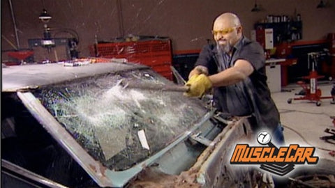 "MuscleCar DVD (2007) Episode 12 - ""Pontiac Le Mans-Refurbishing The Frame"""