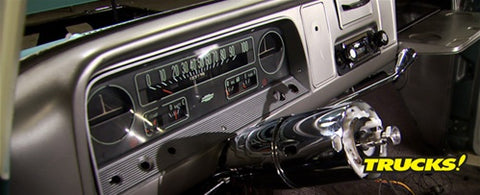 "Trucks! DVD (2009) Episode 14 - ""Daily Driver C-10 Part 6: Glass Repair & Gauge Cluster Rebuild"""