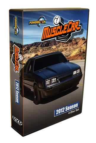 MuscleCar DVD (2012) Complete Season 4-Disc Set