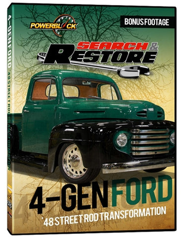 "Search & Restore - Project ""4-Gen Ford"" 1948 Street Rod Transformation"