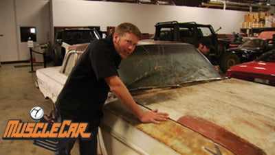 "MuscleCar DVD (2008) Episode 08 - ""Project Red Sled Debut"""