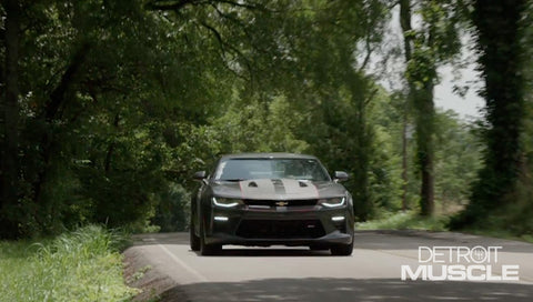 Detroit Muscle DVD (2018) Episode 17 - Camaro Test Drive and English Drag Racing