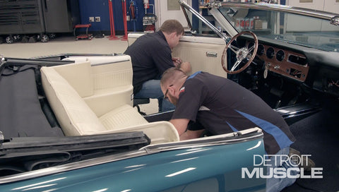Detroit Muscle DVD (2019) Episode 18 - Pontiac Convertible Interior