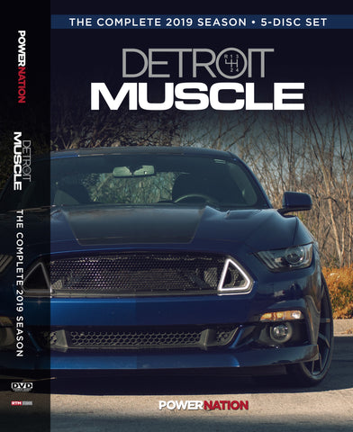 Detroit Muscle DVD (2019) Complete Season 5-Disc Set