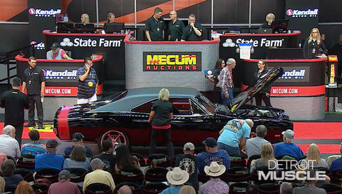 Detroit Muscle DVD (2020) Episode 03 - '69 Charger Hellcat Goes to Mecum