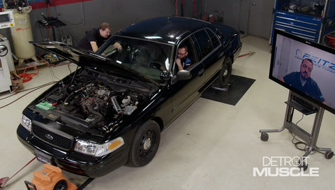 Detroit Muscle DVD (2020) Episode 07 - Boosting A Crown Vic Police Interceptor 160 Horsepower