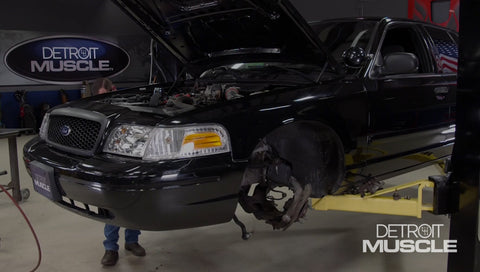 Detroit Muscle DVD (2020) Episode 08 - Beefing Up a Police Cruiser with New Brakes and Suspension