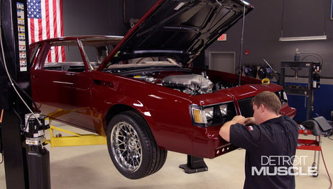 Detroit Muscle DVD (2020) Episode 19 - Buick Regal Paint and Trim