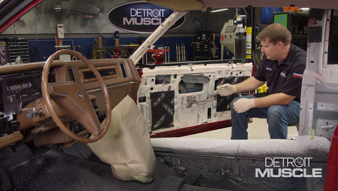Detroit Muscle DVD (2020) Episode 21 - Street Regal Wiring and Sound Proofing