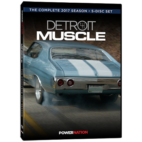 Detroit Muscle DVD (2017) Complete Season 5-Disc Set
