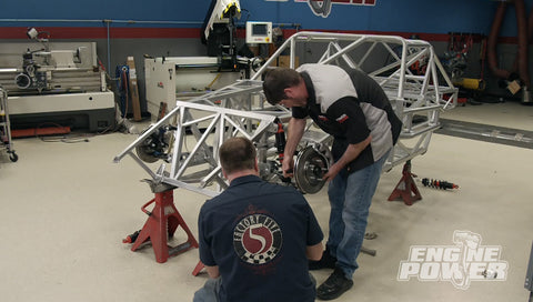 Engine Power DVD (2019) Episode 11 - Meet the Test Sled! 363ci Endurance Engine