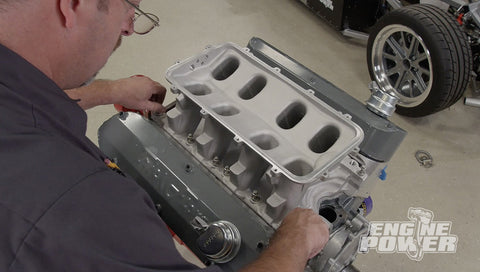 Engine Power DVD (2020) Episode 03 - Adding a Tunnel Ram to a 408 Windsor