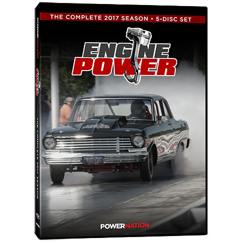 Engine Power (2017) Complete Season 5-Disc Set