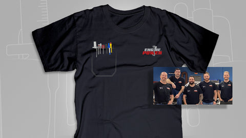 Engine Power Pocket T-Shirt