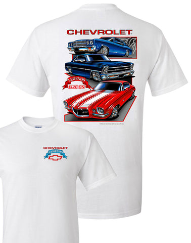 Chevy Legends Shirt (TDC-271)