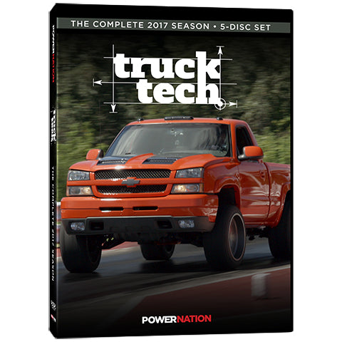 Truck Tech (2017) Complete Season 5-Disc Set