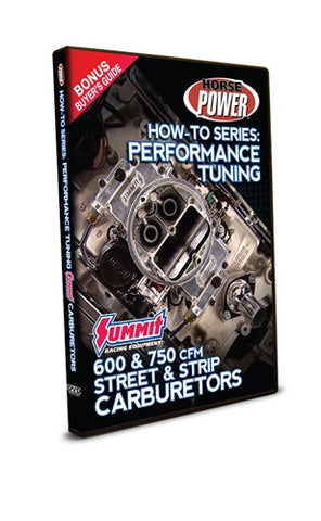How-To Series: Performance Tuning 600 & 750 cfm Carburetors DVD