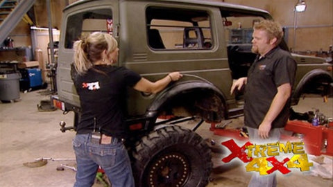 "Xtreme 4x4 DVD (2007) Episode 20 - ""Samurai Part I  WeROCK III"""