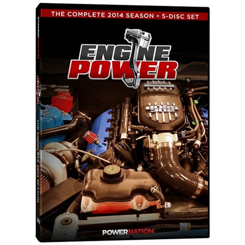 Engine Power (2014) Complete Season 5-Disc Set