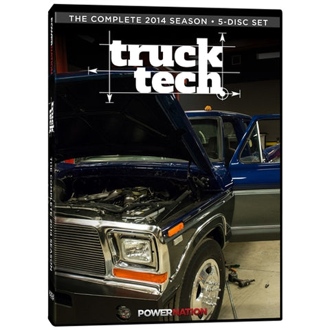 Truck Tech (2014) Complete Season 5-Disc Set