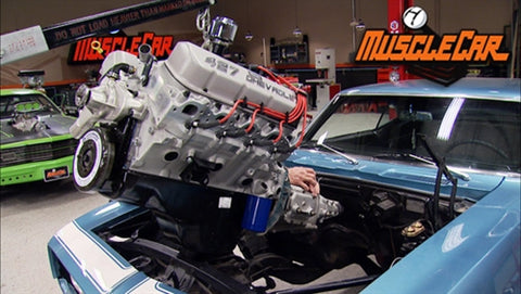 MuscleCar DVD (2013) Episode 06 - NOPO to COPO Engine Swap/Shifter Install