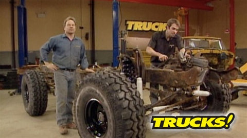 "Trucks! DVD (2007) Episode 04 - ""A Bronco On The Cheap"""