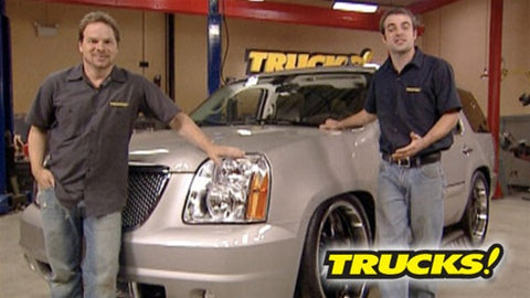 "Trucks! DVD (2007) Episode 15 - ""A Lowered Denali & Rewinding"""