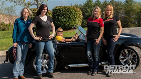 Detroit Muscle DVD (2014) Episode 13 - 427 Cobra Replica: All Girls Build