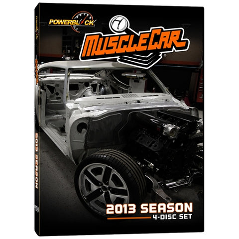 MuscleCar DVD (2013) Complete Season 4-Disc Set