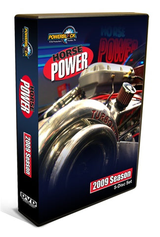 HorsePower DVD (2009) Complete Season 5-Disc Set