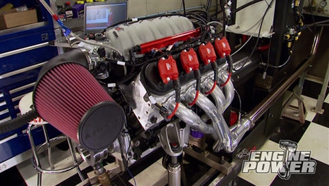 "Engine Power DVD (2014) Episode 10 - ""Iron Animal"" Part 2: Flow Bench Testing Heads"