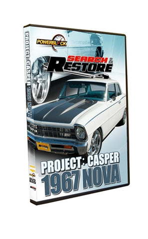 "Search & Restore - Project ""Casper"" 1967 Nova"
