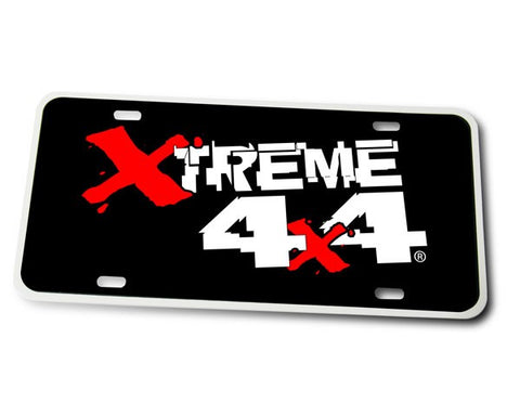 Xtreme 4X4 License Plate